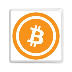 Bitcoin Cryptocurrency Currency Memory Card Reader (square)  by Nexatart