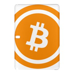 Bitcoin Cryptocurrency Currency Samsung Galaxy Tab Pro 10 1 Hardshell Case by Nexatart