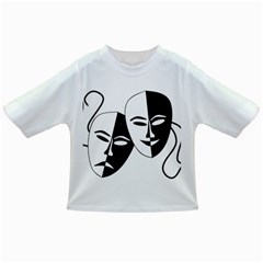 Theatermasken Masks Theater Happy Infant/toddler T Shirts