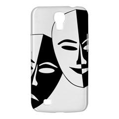 Theatermasken Masks Theater Happy Samsung Galaxy Mega 6 3  I9200 Hardshell Case by Nexatart