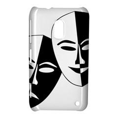 Theatermasken Masks Theater Happy Nokia Lumia 620 by Nexatart