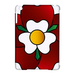 Flower Rose Glass Church Window Apple Ipad Mini Hardshell Case (compatible With Smart Cover) by Nexatart