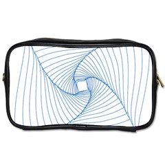 Spirograph Pattern Drawing Design Toiletries Bags 2 Side by Nexatart