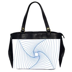 Spirograph Pattern Drawing Design Office Handbags (2 Sides)  by Nexatart