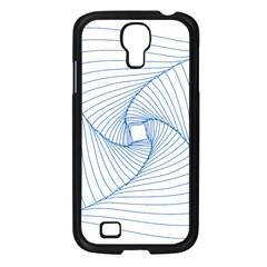 Spirograph Pattern Drawing Design Samsung Galaxy S4 I9500/ I9505 Case (black) by Nexatart
