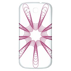 Spirograph Pattern Circle Design Samsung Galaxy S3 S Iii Classic Hardshell Back Case by Nexatart