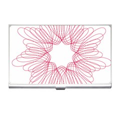 Spirograph Pattern Drawing Design Business Card Holders by Nexatart