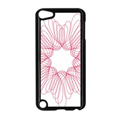 Spirograph Pattern Drawing Design Apple Ipod Touch 5 Case (black) by Nexatart