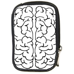 Brain Mind Gray Matter Thought Compact Camera Cases by Nexatart