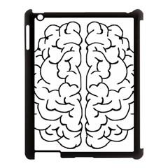 Brain Mind Gray Matter Thought Apple Ipad 3/4 Case (black) by Nexatart