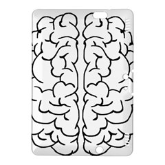 Brain Mind Gray Matter Thought Kindle Fire Hdx 8 9  Hardshell Case by Nexatart