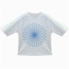 Spirograph Pattern Circle Design Infant/toddler T Shirts by Nexatart