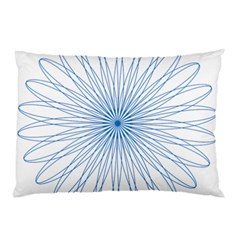 Spirograph Pattern Circle Design Pillow Case (two Sides) by Nexatart