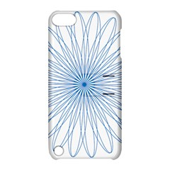 Spirograph Pattern Circle Design Apple Ipod Touch 5 Hardshell Case With Stand by Nexatart