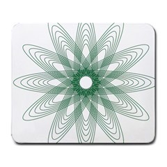 Spirograph Pattern Circle Design Large Mousepads by Nexatart