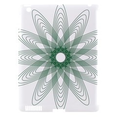 Spirograph Pattern Circle Design Apple Ipad 3/4 Hardshell Case (compatible With Smart Cover) by Nexatart