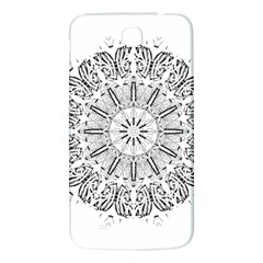 Art Coloring Flower Page Book Samsung Galaxy Mega I9200 Hardshell Back Case by Nexatart