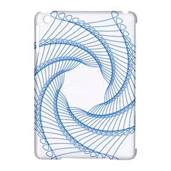 Spirograph Spiral Pattern Geometric Apple Ipad Mini Hardshell Case (compatible With Smart Cover) by Nexatart