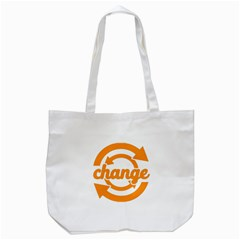 Think Switch Arrows Rethinking Tote Bag (white) by Nexatart