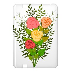 Roses Flowers Floral Flowery Kindle Fire Hd 8 9  by Nexatart