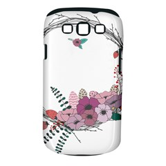 Flowers Twig Corolla Wreath Lease Samsung Galaxy S Iii Classic Hardshell Case (pc+silicone) by Nexatart