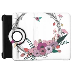 Flowers Twig Corolla Wreath Lease Kindle Fire Hd 7  by Nexatart
