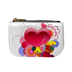 Heart Red Love Valentine S Day Mini Coin Purses