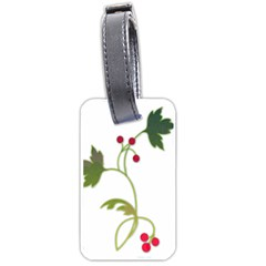 Element Tag Green Nature Luggage Tags (one Side)  by Nexatart