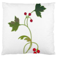 Element Tag Green Nature Large Cushion Case (two Sides) by Nexatart