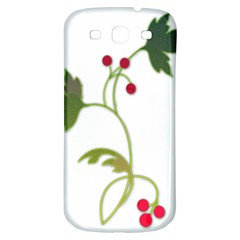 Element Tag Green Nature Samsung Galaxy S3 S Iii Classic Hardshell Back Case by Nexatart