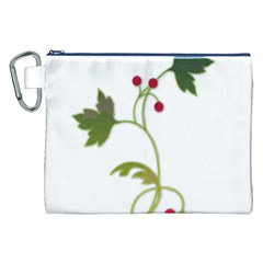 Element Tag Green Nature Canvas Cosmetic Bag (xxl) by Nexatart