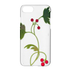 Element Tag Green Nature Apple Iphone 7 Hardshell Case by Nexatart