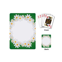 Photo Frame Love Holiday Playing Cards (mini)  by Nexatart