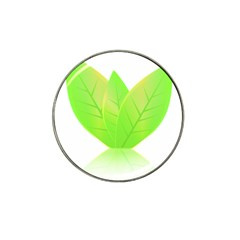 Leaves Green Nature Reflection Hat Clip Ball Marker by Nexatart