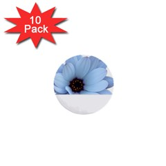 Daisy Flower Floral Plant Summer 1  Mini Buttons (10 Pack)  by Nexatart