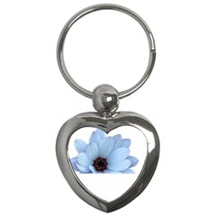 Daisy Flower Floral Plant Summer Key Chains (heart)  by Nexatart
