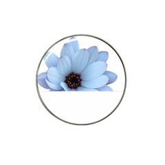 Daisy Flower Floral Plant Summer Hat Clip Ball Marker (4 Pack) by Nexatart