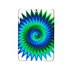 Star 3d Gradient Blue Green Ipad Mini 2 Hardshell Cases by Nexatart