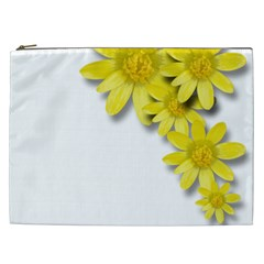 Flowers Spring Yellow Spring Onion Cosmetic Bag (xxl)  by Nexatart