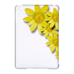 Flowers Spring Yellow Spring Onion Apple Ipad Mini Hardshell Case (compatible With Smart Cover) by Nexatart