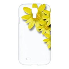 Flowers Spring Yellow Spring Onion Samsung Galaxy S4 I9500/i9505 Hardshell Case by Nexatart