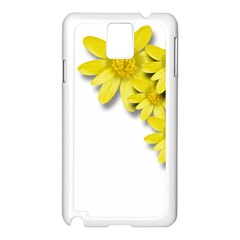 Flowers Spring Yellow Spring Onion Samsung Galaxy Note 3 N9005 Case (white) by Nexatart