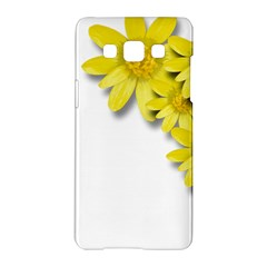 Flowers Spring Yellow Spring Onion Samsung Galaxy A5 Hardshell Case  by Nexatart