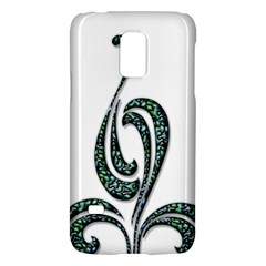 Scroll Retro Design Texture Galaxy S5 Mini by Nexatart