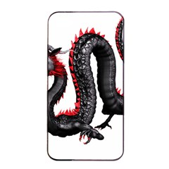 Dragon Black Red China Asian 3d Apple Iphone 4/4s Seamless Case (black) by Nexatart