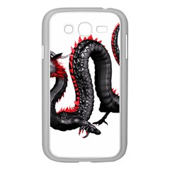 Dragon Black Red China Asian 3d Samsung Galaxy Grand Duos I9082 Case (white) by Nexatart