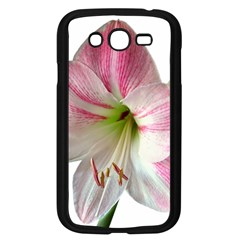 Flower Blossom Bloom Amaryllis Samsung Galaxy Grand Duos I9082 Case (black) by Nexatart