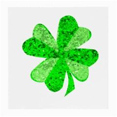 St Patricks Day Shamrock Green Medium Glasses Cloth by Nexatart