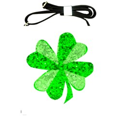 St Patricks Day Shamrock Green Shoulder Sling Bags by Nexatart