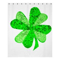 St Patricks Day Shamrock Green Shower Curtain 60  X 72  (medium)  by Nexatart